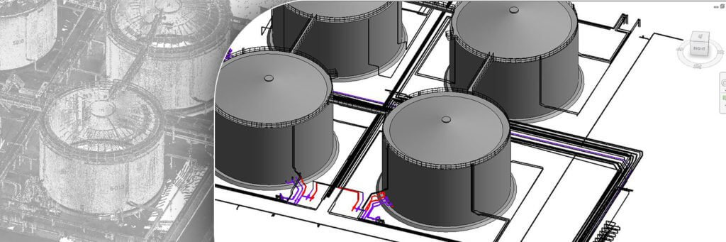 BIM Models for The Tanks Storage Area
