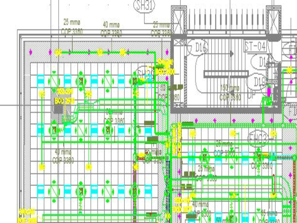 2D Documentation of a Commercial Project