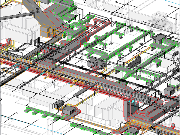 BIM-MEPF services for Hospitality Project